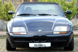 BMW Z1 Cabrio, Chassis Number: WBABA91060AL00142, first registered 02/1989, dutch registration,