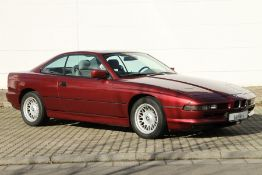 BMW 850i Coupé, Chassis Number:WBAEG21020CB10493, first registered 05/1992, german collector car