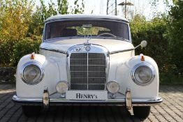Mercedes-Benz 300 S A Coupé, Chassis Number: 1880110031053, first registered 07/1953, MOT 10/2021,