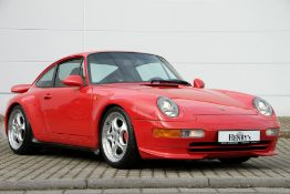 Porsche 911 Carrera RS 993, Chassis Number: WP0ZZZ99ZTS390517, first registered 08/1995, two owners,