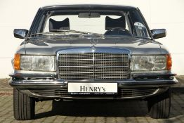 Mercedes-Benz 280S Limousine, Chassis Number: 11602010089338, first registered 08/1977, 2 owners,