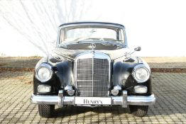 Mercedes-Benz 300d Adenauer, Chassis Number: 8500228, first registered 07/1958, two owners within