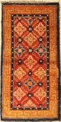 China alt, um 1930, Wolle auf Baumwolle, ca. 120 x 60 cm, EHZ: 2-3