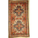 Tschelaberd antik, Adler Kasak, Kaukasus, 19.Jhd., Wolle auf Wolle, ca. 214 x 117 cm, EHZ: 3