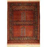 Mauri Engsi Fein, Afghanistan, ca. 50 Jahre, Wolle auf Wolle, ca. 160 x 120 cm, EHZ:2