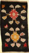 Khaden alt, Tibet, um 1930, Wolle auf Wolle, ca. 166 x 90 cm, EHZ: 3