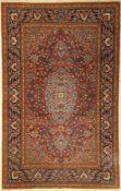 Esfahan alt, Persien, um 1920, Wolle auf Baumwolle, ca. 221 x 140 cm, EHZ: 3