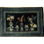 Pao Tow alt, China, um 1920, Korkwolle, ca.198 x 134 cm, EHZ: 2-3