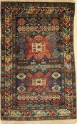 Eriwan alt, Kaukasus, um 1940, Wolle auf Wolle, ca. 150 x 91 cm, EHZ: 3