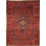 Khorassan alt, Persien, ca. 70 Jahre, Wolleauf Baumwolle, ca. 200 x 146 cm, EHZ: 3-4
