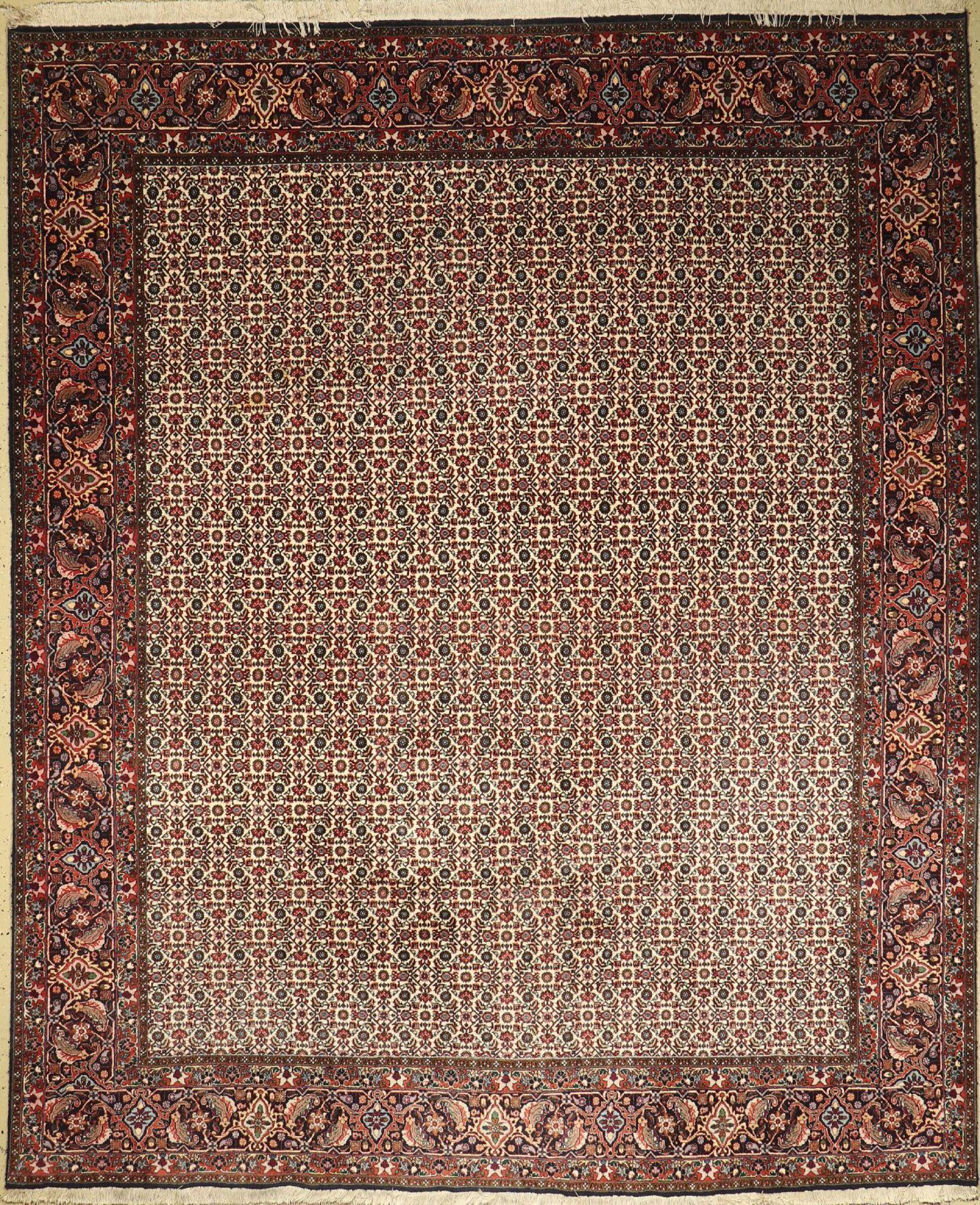 Bidjar, Persien, ca. 30 Jahre, Wolle auf Baumwolle, ca. 308 x 253 cm, EHZ: 2-3