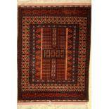 Mauri Engsi fein, Afghanistan, ca. 50 Jahre, Wolle auf Wolle, ca. 158 x 114 cm, EHZ:2