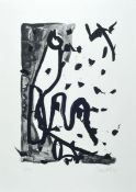 Georg Baselitz, born 1938, lithograph in smalledition, on thick wove paper, num. 5/15, from 1993,