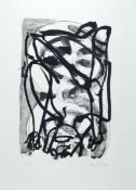 Georg Baselitz, born 1938, lithograph in small edition, on thick wove paper, num. 5/15, from 1993,