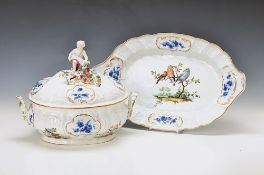 tureen and Presentoir, Meissen, around 1745, designed by J. Meissonnier (on court of LudwigXV. since