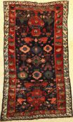 Alpan Kuba antique, East Caucasus, 19th century, wool knotted on wool, approx. 200 x 122 cm, very