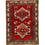 Fachralo Kazak antique, Southwest Caucasus, late 19th century, wool on wool, approx. 260 x190 cm,