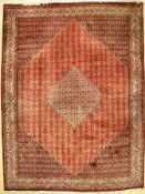 Bidjar fine, Persia, approx. 40 years, wool, approx. 341 x 258 cm, condition: 2. Auction: Antique,