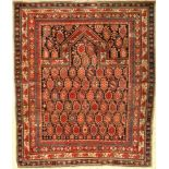 "Marasali ""prayer rug"", antique, Caucasus, around 1890, wool on wool, approx. 150 x 130 cm,"