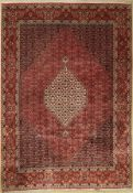 Bidjar, Persia, approx. 40 years, wool on cotton, approx. 297 x 204 cm, slightly faded. Auction: