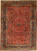 Lilian antique, Persia, around 1900, wool on cotton, approx. 378 x 268 cm, condition: 2-3.