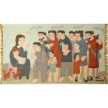 Tapestry old, Germany, around 1940, wool on wool, approx. 199 x 115 cm, condition: 2. Auction: