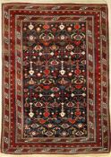 Kuba Shirvan antique, Caucasus, 19th century, wool on wool, approx. 183 x 127 cm, rarity, condition: