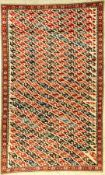 Rare fine Shirvan, Caucasus, late 19th century, wool on wool, approx. 173 x 107 cm, collector's