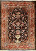 Kashmar old, Persia, approx. 60 years, wool oncotton, approx. 347 x 248 cm, condition: 2. Auction: