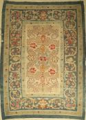 Bessarabia kilim antique, around 1900, wool onwool, approx. 285 x 210 cm, decorative, rare,