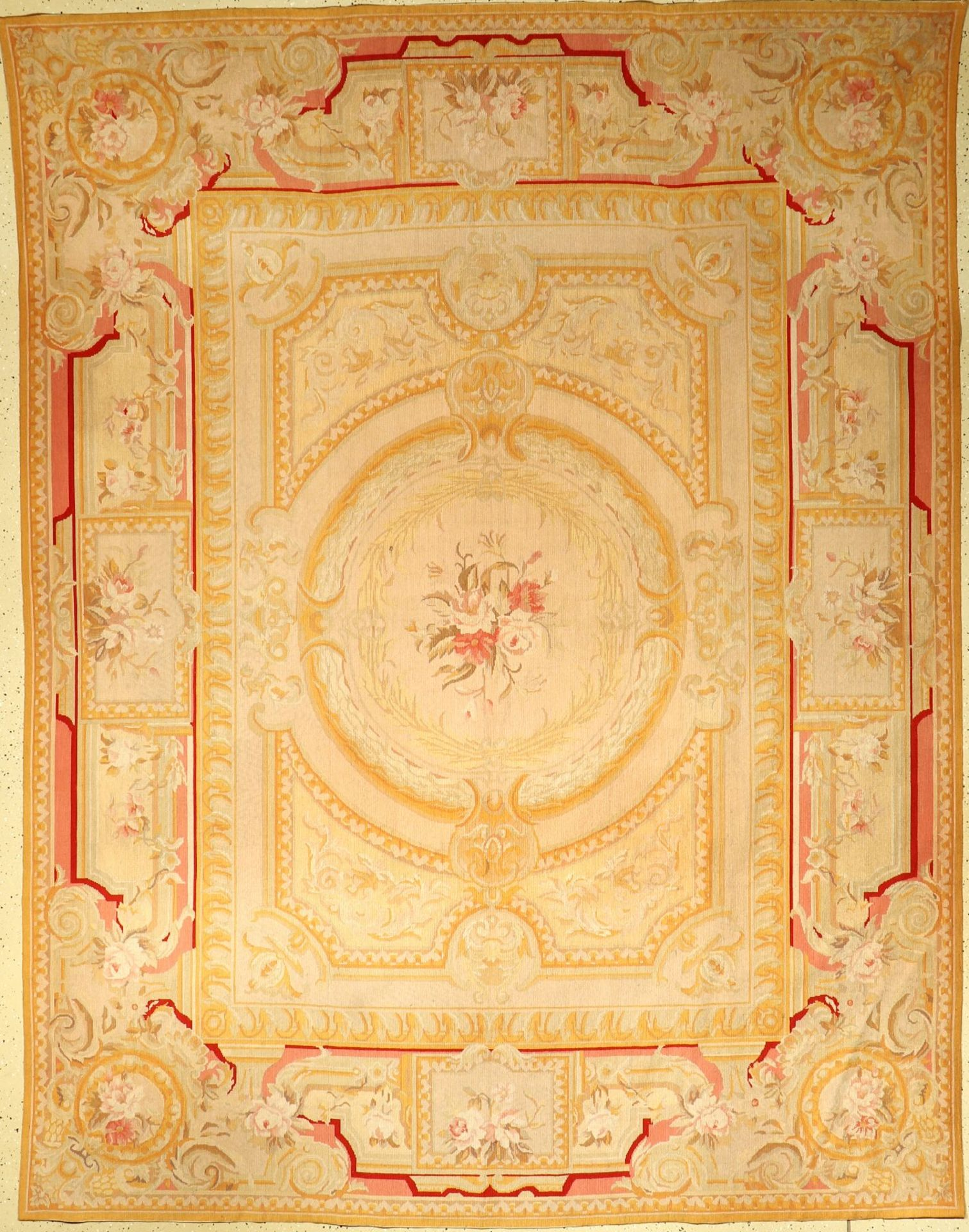 Reves Du Desert Tapis, France, around 1950, wool on cotton, approx. 293 x 225 cm, condition: 2-3,