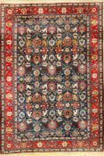 Veramin old, Persia, approx. 60 years, cork wool cotton, approx. 315 x 220 cm, decorative,rare