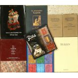 """28 books """"Rug literature"""", good conditions. Auction: Antique, old and decorative rugs & carpets."""