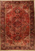 Heriz alt, Persia, approx. 60 years, wool on cotton, approx. 385 x 268 cm, condition: 2-3.