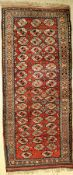 Kordi old, Persia, around 1920, wool on wool, approx. 250 x 107 cm, condition: 2-3. Auction:Antique,