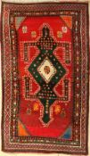 Gabbeh old, Persia, approx. 60 years, wool on cotton, approx. 218 x 130 cm, condition: 2. Auction: