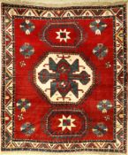 Lori Pambak Antique Kazak, Caucasus, late 19thcentury, wool on wool, approx. 208 x 181 cm,