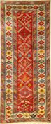 Cuba Shirvan antique, Caucasus, 19th century, wool on wool, approx. 237 x 100 cm, high quality