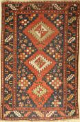 Antique Kazak, Caucasus, around 1900, wool on wool, approx. 154 x 103 cm, condition: 4. Auction: