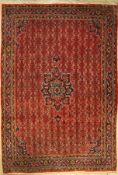 Bidjar old, Persia, approx. 60 years, wool on cotton, approx. 325 x 225 cm, condition: 2-3. Auction: