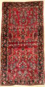 Us Saruk antique, Persia, around 1900, wool, approx. 146 x 77 cm, condition: 3-4. Auction: