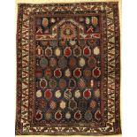 Fine Marasali prayer rug, antique, Caucasus, 19th century, wool on wool, approx. 138 x 107 cm,