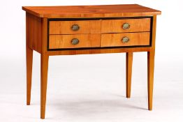 Console, in Biedermeier style, corpus cherry and Solid beech, cherry veneer partly