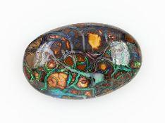 Boulder opal , approx. 48.41 ctBoulder Opal, ca. 48.41 ct