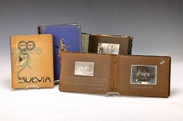 2 photo albums of the years of study and four books fraternity, fellow students and experiences of