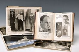 convolute to the cinematic /Theater, Autographs, books, etc., Film Führer 1929, with Portraits of