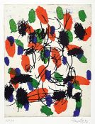 Georg Baselitz, born 1938, color etching on laid paper, signed by hand, number 27/30, sheet size