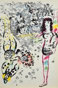Marc Chagall, 1887-1985, Lithograph II (1957- 1962), by Fernand Mourlot, publisher Andre Sauret