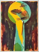 Allen Jones, née 1937, offset lithograph, signed by hand, only a few signed copies, Galerie