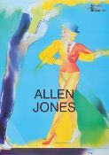 Allen Jones, née 1937, offset lithograph, signed by hand, only a few signed copies, ed. Galleria D #